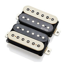 EMG Super 77 Retro Active Humbucker Pickups, Short Shaft - Zebra