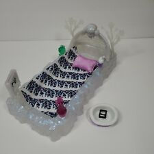 Monster High's Abbey Bominable's Bed Of Ice with Accessories - Great Condition!