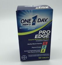 Mens One A Day Pro Edge Multivitamin 50 Tablets New