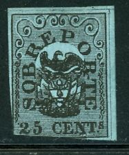 Colombia MNG Back of Book Selections: Scott #J1 25c Black/Blue Postage Due CV$80