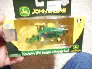 ATHEARN JOHN DEERE 1/87TH SCALE 7700 COMBINE WITH GRAIN HEAD HO SCALE