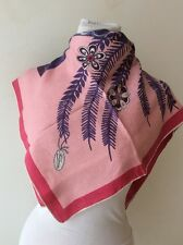 Borbonese foulard scarf seta Vintage