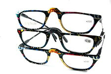 UV 0561 Lady Reading Glass Color Frame +200 3 for 1 price