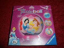 Disney PRINCESS Junior puzzleball 96 pieces, 12 cm, Ravensburger