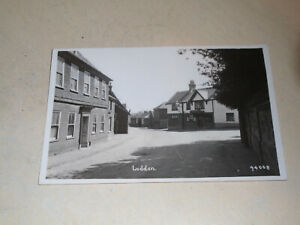 EARLY 1930s  REAL PHOTO PC - GENERAL VIEW, LODDON, NORFOLK BROADS, NORFOLK