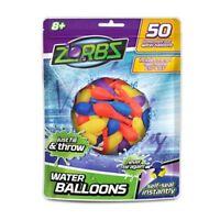 Zorbz Wasserballon 50er Beutel Wasserbomben Biologisch abbaubar selbstverschl.