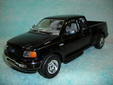 1/18 SCALE DIECAST 1999 FORD F-150 SUPER CAB P/U  IN BLACK BY ERTL NO BOX.