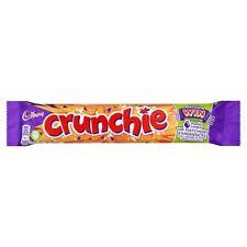 Cadbury Crunchie Milk Chocolate Bar 40g x 48 Golden Honeycombed Centre (223398)