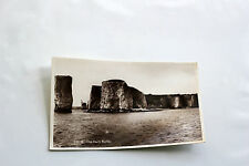 Old Black and White Postcard [2] - Real Photograph - Old Harry Rocks, Swanage