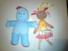 Upsy Daisy in The Night Garden Rattle/bell Toy + Iggle piggle