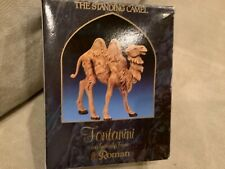 """1992 Fontanini Italy 52544 Standing Camel Heirloom Nativity 5"""" Collection In Box"""