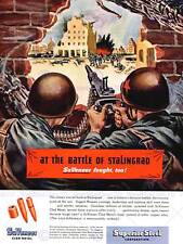 ADVERT 1944 BATTLE OF STALINGRAD BULLETS NEW FINE ART PRINT POSTER CC2666