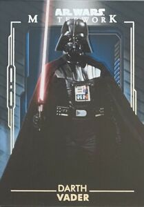 2020 Star Wars Masterwork Darth Vadar Blue Parallel