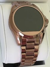 NEW MICHAEL KORS Access Sable Brown-Gold Bradshaw Touchscreen Smartwatch MKT5007