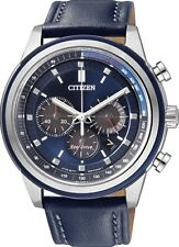 Citizen Eco-drive Chronograph Tachymeter Ca4031-07l Mens Watch