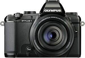 [NEAR MINT] Olympus Stylus Stylus 1 12.0MP Digital Camera Black  (N221-1)