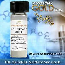 MONATOMIC GOLD *ORMUS* WHITE POWDER GOLD* 10 gram MONOATOMIC GOLD Andara M-5