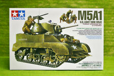 Tamiya 1/35 scale WW2 US American M5A1 with 4 Figures