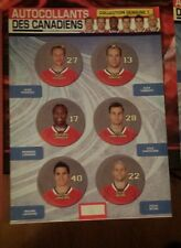 Montréal Canadiens stickers Alex Kovalev Georges Laraque and others.