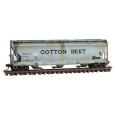 N Scale Micro-Trains MTL 09444670 SSW Cotton Belt / Ootton Belt 3-Bay Hopper Car