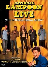 "NEW DVD - National Lampoon Live: ""The International Show"", Dat Phan, Gerry Dee"