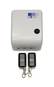 KBA Euro Receiver for roller shutters + 2 remotes