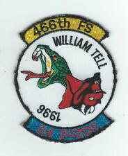 466th FS/302nd FS WILLIAM TELL 1996 patch