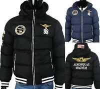 Geographical Norway Apash Herren Winterjacke Daunen Style Winter Flieger Jacke