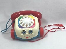 Vintage Fisher Price Phone Telephone 1993 Toddler Pull Along Toy 2251 21078