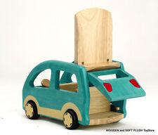 VOILA TOY child's kids wooden CAR dolls house accessories pretend play BRAND NEW