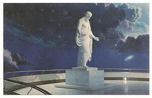 The Christus Statue, Temple Square Visitor Center, Utah, Unused Vintage Postcard