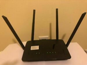 D-link AC1200 WI-FI Router Dual Band (2.4 + 5Ghz), 4 Port, 300Mbps wifi