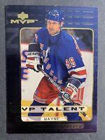 1999-00 Upper Deck MVP Talent #MVP1 Wayne Gretzky New York Rangers Insert