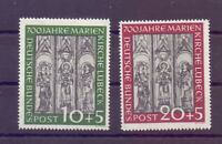 Bund 1951 - Marienkirche - MiNr. 139/140 postfrisch** - Michel 220,00 € (003)