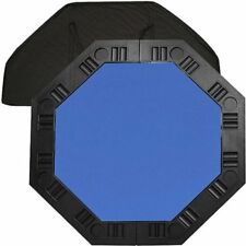 """Trademark Poker 48"""" 8-Player Octagonal Table Top, Blue W"""
