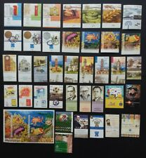 Israel 2004 Complete Year Set Of Stamps Issues 38 Stamps +1 Souvenir Sheet