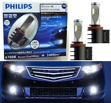 Philips X-Treme Ultinon LED Kit 6700K White H11 Fog Light Two Bulbs Replace OE