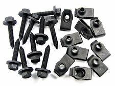 Bolts & U-Nuts For Hyundai- M6-1.0mm Thread- 10mm Hex- Qty.10 ea.- #144