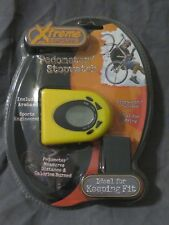 Brand New in Package - Xtreme Sports Pedometer/ Stopwatch from Sakar - Yellow