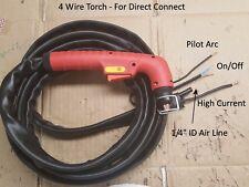 4 Wire Replacement Plasma Torch + Fix Repair Non-HF Plasma Cutter Solar Century