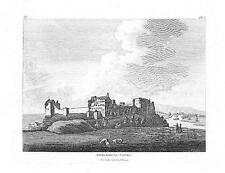 """1783 Original Antigua de impresión """"Cockermouth Castillo"""" Carlise Maryport (U132)"""