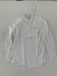 Our Legacy Oxford Button Down Shirt XL 52 New With Tags 100% Authentic
