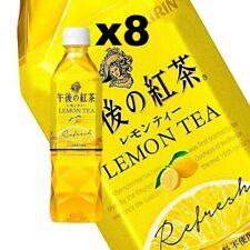Kirin Lemon Tea, 500ml, Japanese Popular Drink, (8 Bottles)