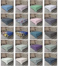 Ambesonne Underwater Print Flat Sheet Top Sheet Decorative Bedding 6 Sizes