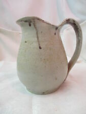 Vintage Stoneware Pottery Jug Pitcher signed Conway Leveritt AR