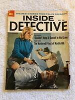 Vintage INSIDE DETECTIVE Magazine November 1963 Bondage Cover ROBERT SCOTT