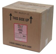 New 3 Gallons Cranberry Juice Concentrate 5:1 for BiB Dispenser Bag-in-Box Syrup