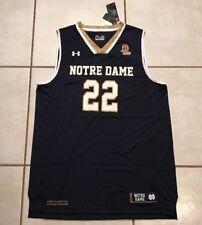 4cd99d96d Under Armour Notre Dame Fighting Irish  22 Basketball Jersey XL Navy