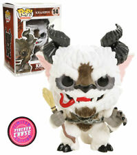 Exclusive Flocked Krampus CHASE FUNKO Pop Vinyl New in Mint Box + Protector