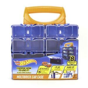 Mattel Hot Wheels Sammelkoffer Regal Vitrine 8ter Box einzeln endlos erweiterbar
